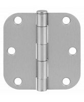 "Penture 3"" x 3"" Satin chrome"